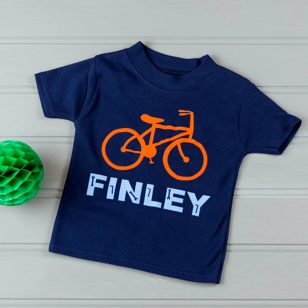 Personalised My Bike Children's T Shirt
