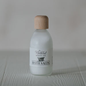 Natural Bath Salts Unscented For Sensitive Skin