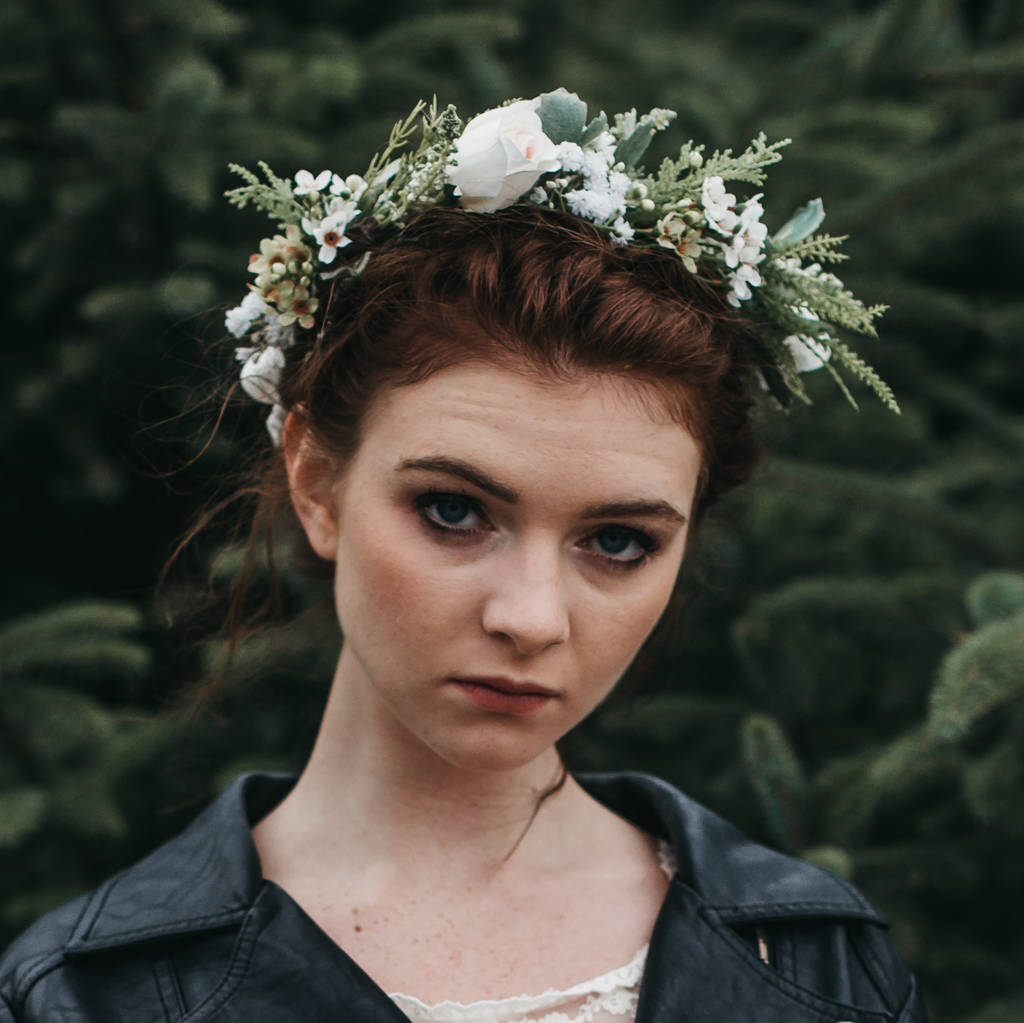 Athena flower crown by gypsy rose vintage notonthehighstreet athena flower crown izmirmasajfo