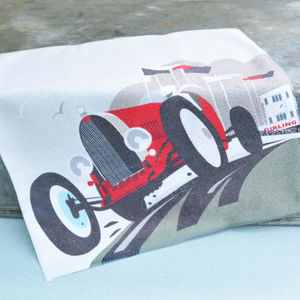 Goodwood Motor Racing Flannel - bath & body