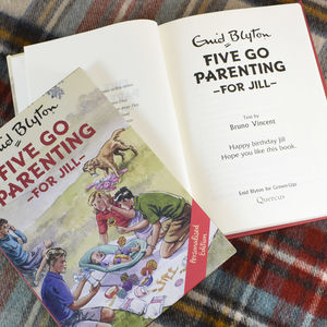 Personalised Five Go Parenting Book - coffee table books