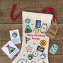 Pins And Patches Advent Calendar Christmas Stocking