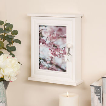 Papillon Photo Frame Key Cabinet