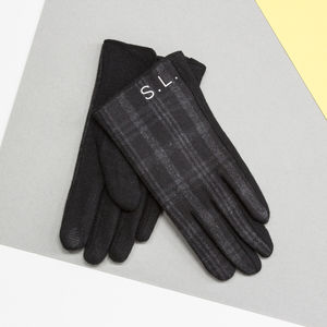 Personalised Men's Merino Wool Gloves - summer sale