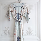 Personalised Bridal Blossom Dressing Gown - weddings