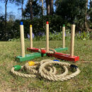Traditional Wooden Quoits Garden Game