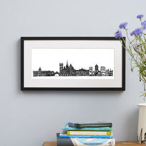 Oxford Skyline Screen Print