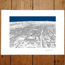 Tottenham, White Hart Lane London Print