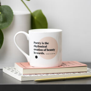 Poetry Lover Mug Choice Of Eight