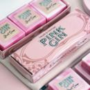 Marbled Pink Gin Guest Soaps Box Of Three
