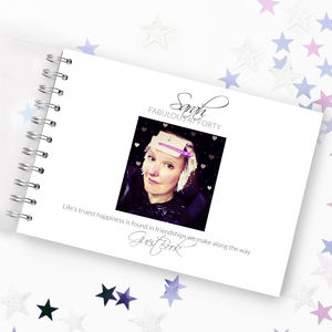 Personalised Birthday Keepsake Book - photo albums