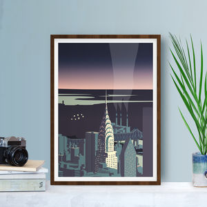 Chrysler Building Art Print - shop by subject