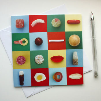 Sweets Greetings Card