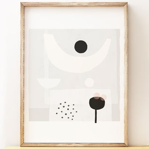 'Offering' Abstract Art Print - modern & abstract