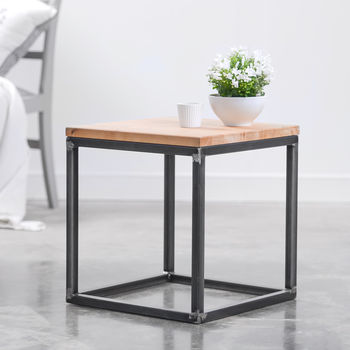 Small Heavy Duty Oak Coffee Table