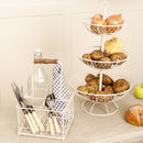 Country Cottage Wire Kitchen Storage