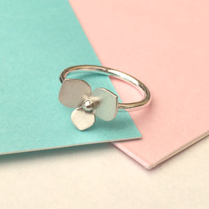Flower Petal Ring - rings