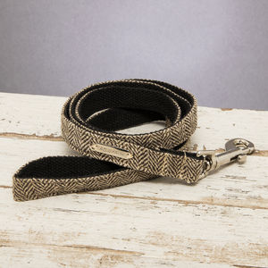 The Beaufort Country Tweed Dog Lead - dog leads & harnesses