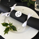 Personalised Christmas Cracker Table Setting With Badge