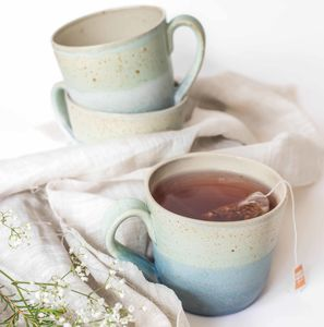 Handmade Speckled Ceramic Mug - artisan edit