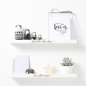 Personalised Children's Shelf - shelves
