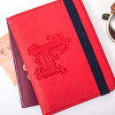 Personalised Cross Grain Passport Holder More Colours