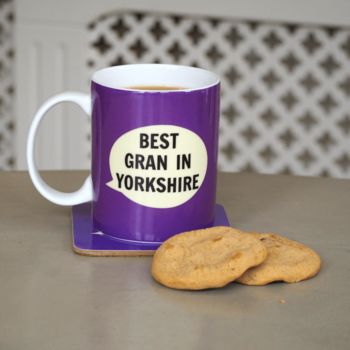 'Best Gran In Yorkshire' Bone China Mug