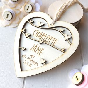Personalised First Holy Communion Keepsake - decorative accessories