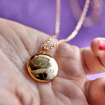 Personalised Locket Necklace