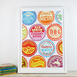Bottle Tops - posters & prints