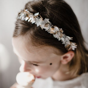 Moonlight Halo Sequin Headband - children's accessories
