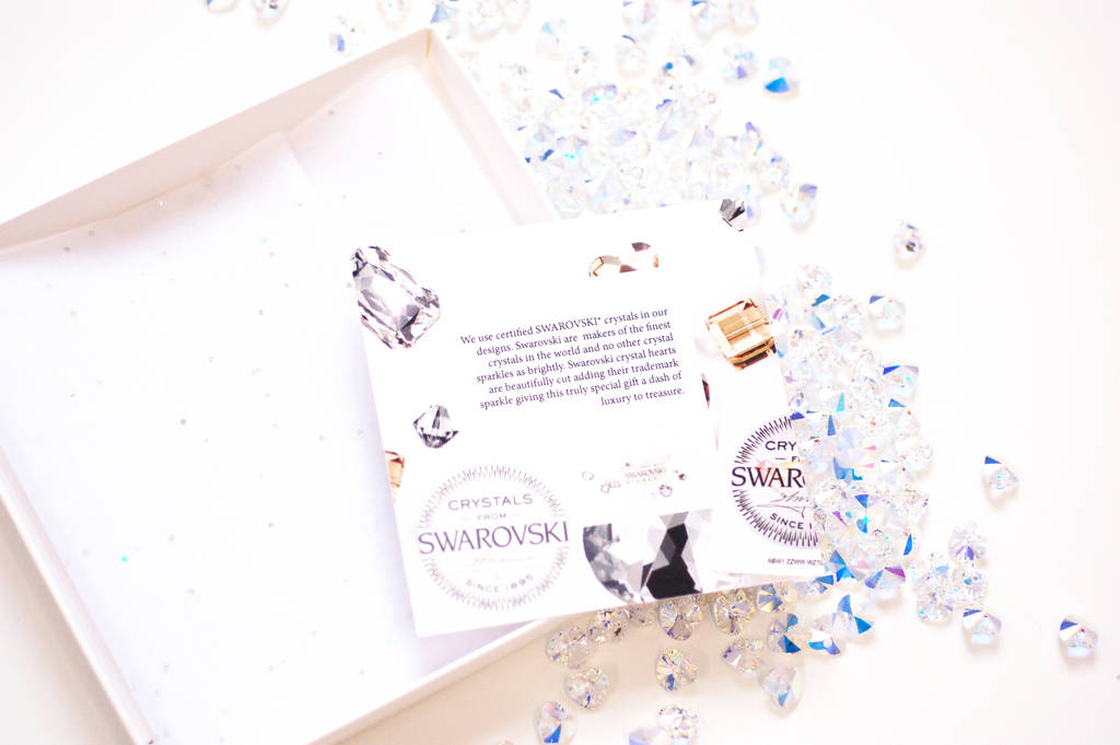 Bedazzled Luxury Personalised Birthday Card By Made With Love