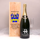 Monogram Magnum Champagne With Family Crest Box