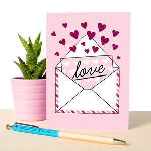 Illustrated Love Note Card