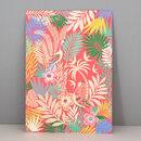 Tropical Paradise Print, Wall Art