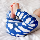 Blue Cloud Child And Baby Leggings