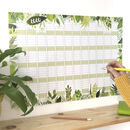 2020 Botanical Wall Calendar And Year Planner