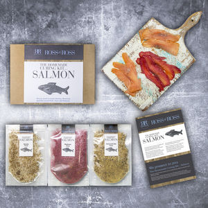 Make Your Own Cured Salmon Kit - christmas food & drink