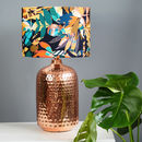 Kitty Mc Call Hothouse Autumnal Copper Lampshade