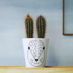 Scandi Bunny Plant Pot