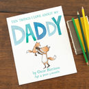 daddy childrens book with personalised text throughout