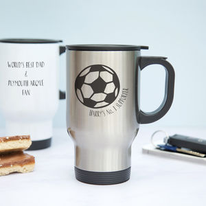 Football Travel Mug Gift For Dads - kitchen