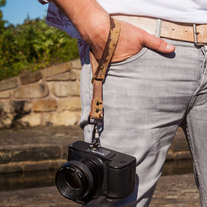 Quick Release Leather Camera Wrist Strap - tech accessories for her