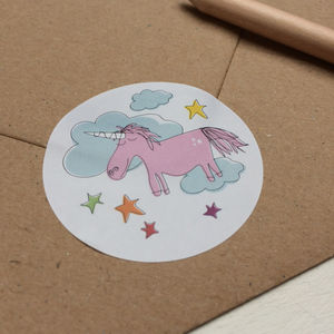 Unicorn Stickers - toys & games