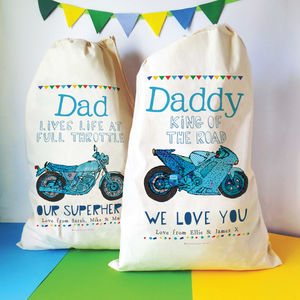 Personalised Motorbike Gear Storage Bag - storage & organisers