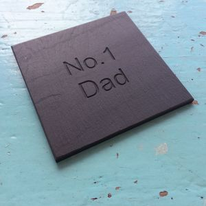 Dad's Drink Slate Coaster