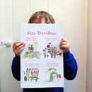Personalised Big Story Card For Teachers