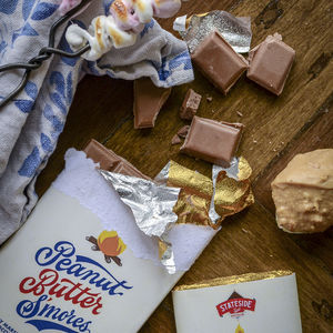Peanut Butter S'mores Milk Chocolate Bar