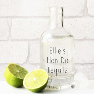 Personalised Hen Do Spirit Decanter