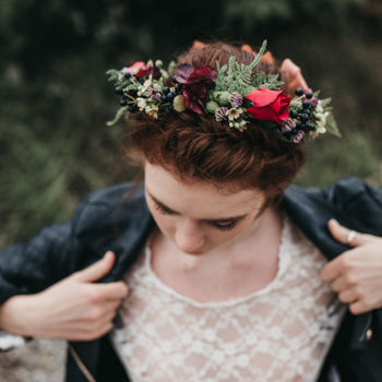 Autumn Flower Crown